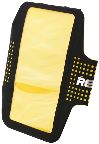 чехол для бега на руку Remax Running Arm Band yellow
