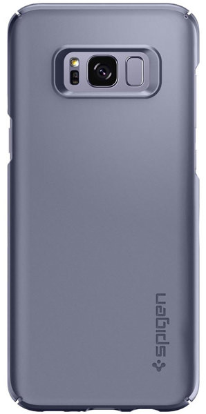 накладка Spigen для Galaxy S8 Thin Fit grey